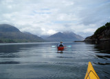 May 10 looking east to the Torridon mountains