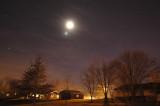 Moon & Venus on New Year's Eve