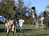 Scopes at the ICTARS Star Party