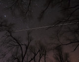 International Space Station over Missouri