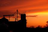 Sunset over MFA