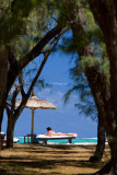 Lazing in sun, Ile de l'Est, Mauritius
