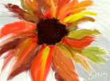 flower from a blank palette