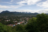 View of Luang Prabang, Laos