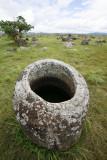 Jar, Plain of Jars, Xieng Kouang, Laos
