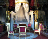 The bedchamber of Empress Marie-Louise