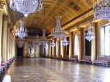 A magnificent ballroom