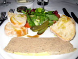 Chicken liver paté