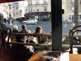 From a café on rue Monge