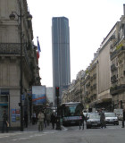 Montparnasse view from rue de Rennes