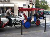 Bicycle cart at rue Bonaparte