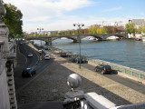 View of Seine from Pont Alexander