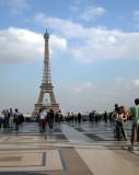 The Trocadero esplanade
