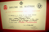 The chef's diploma