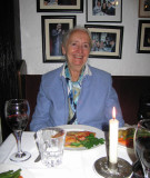 Dinner with Joan at Giovanni's restaurant