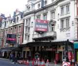 At the Apollo theatre for a David Mamet play