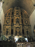 Gold-gilded altar