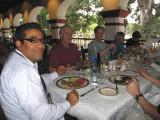 Lunch at the El Asador Vasco restaurant
