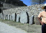 The Dancers, stone slab carvings, oldest artifacts in Monte Alban