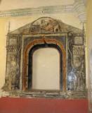 Frescos in a hall niche
