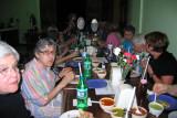 An informal taco dinner