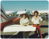 Truetone and mom with Cessna