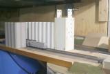 Various grain terminal elevator mock-ups.