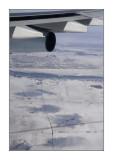 En approche de Montréal