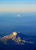 Mt Adams Mt Hood Mt Jefferson Three Sisters