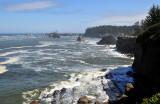 Cape Arago Lighthouse and coast