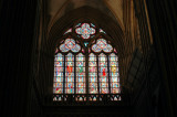 windows in Bayeux Cathedral