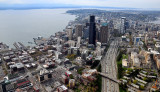 aerial Seattle