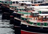 tour boats in Hamburg
