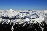 Black Mountain Skullcap Peak Portal Peak and Glacier Peak