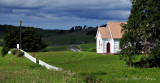 White church in Maungatapere NZ