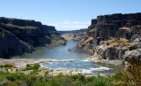 canyon by Shoshone Falls
