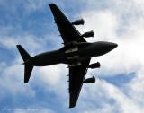 full bottom profile of C-17
