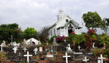 St Benedict Church and cemetery