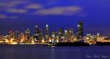 Blue Evening in Seattle