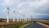 old wind farm