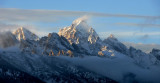 Teton early snow