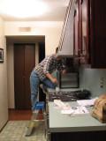 finishing up the kitchen