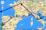 Pilgrimage route...>