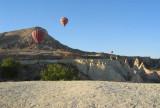 A hint of odd Cappadocia rock formations