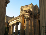 Peristyle through outer colonnade