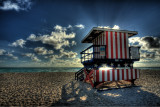MC #160: The View from the Back - South Beach (Miami Beach)by Roger Rax