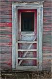 Bunk house door