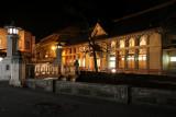 Central Kinosaki by night