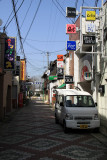 The happening nightlife district of Fukuchiyama
