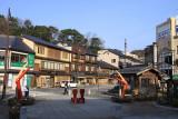 Kinosaki Onsen station surrounds